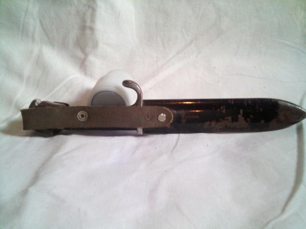 Couteau HJ et baïonnette k98 Img_2042
