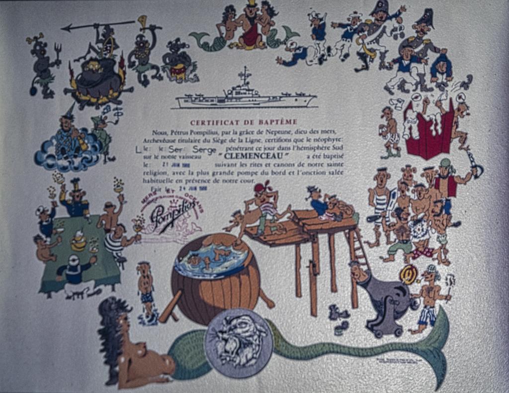 [ Les traditions dans la Marine ] LE PASSAGE DE LA LIGNE - ÉQUATEUR (Sujet unique) - Page 15 P4270710