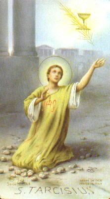 Le jeune martyr de l'Eucharistie Tarcisius de Rome Saint_12