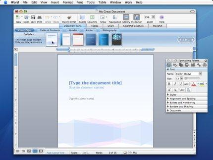 Microsoft Office 2008 mac 110