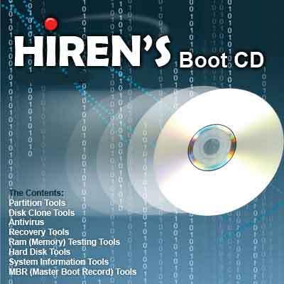 Hiren's 10.0 BootCD (Hiren's BootUSB (Todas las versiones)...) Cyber10