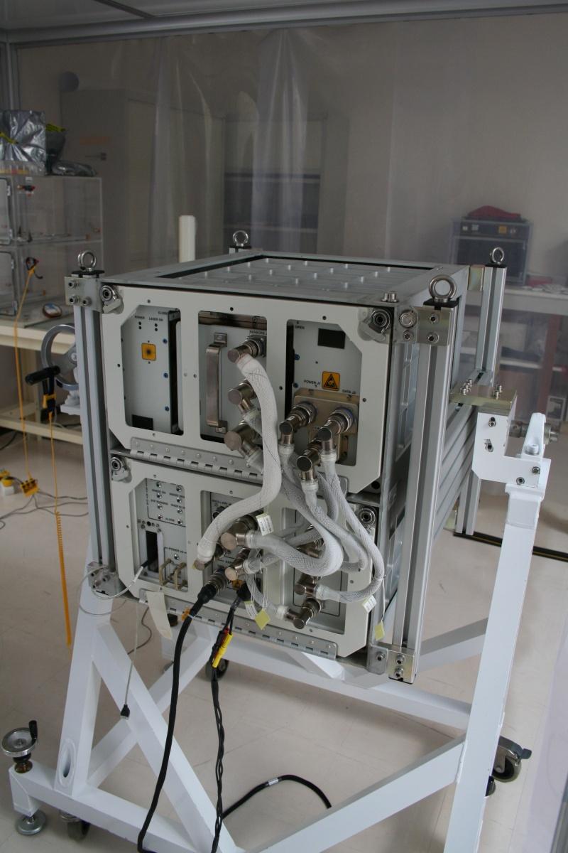 DECLIC à bord ISS Declic10
