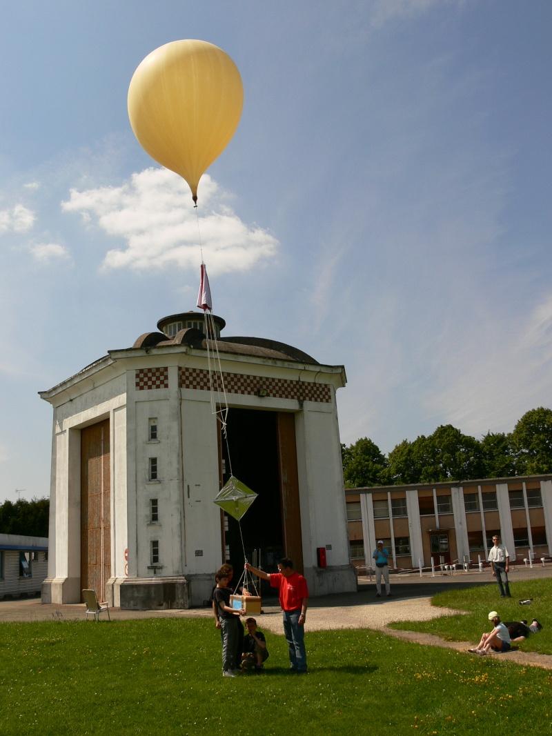 Les ballons stratosphériques amateurs Lacher10