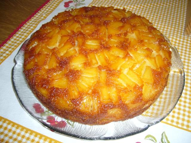 Bolo de ananás da Moranguita P1060910