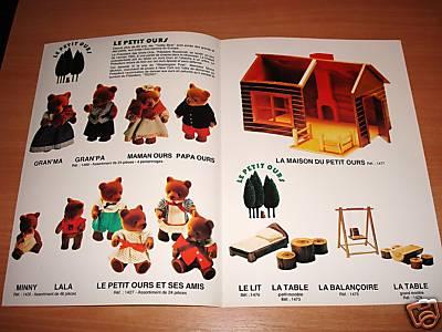 """les """"fakes"""" vendus comme des forest families.... 198510"""