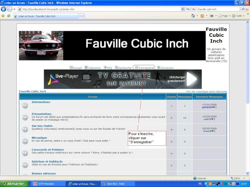 Comment utiliser le forum ? Inscri10