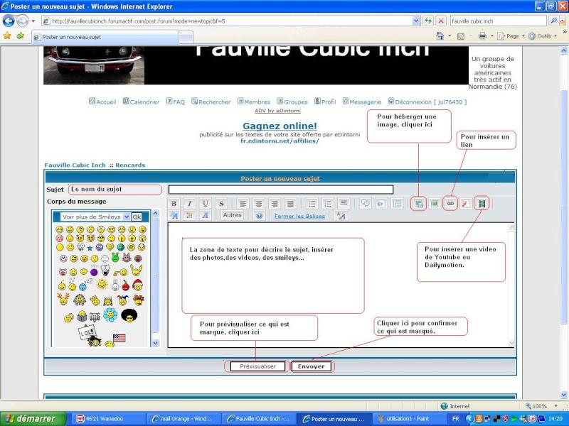Comment utiliser le forum ? Utilis12
