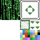 Windowskins gris + matrix Window10