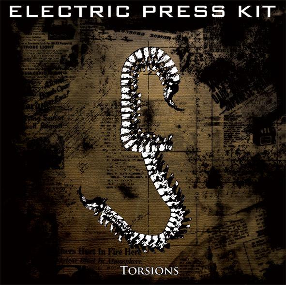 """ELECTRIC PRESS KIT """"Torsions"""" ( Blu_crush rec.-2011) Epkboo11"""