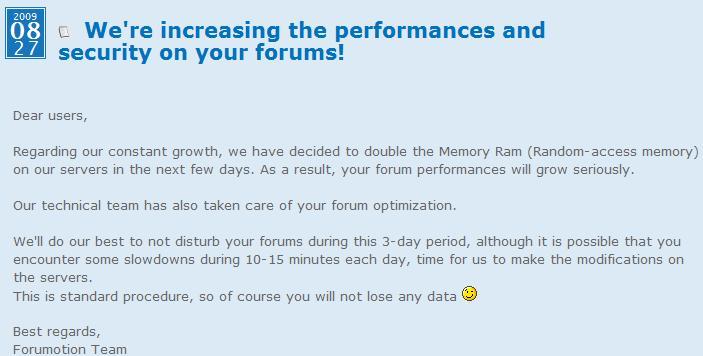 Forum server under-going server upgrades... Untitl11