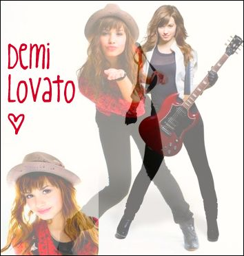 My first blendy thing(not made on photoshop)! Demi_f10