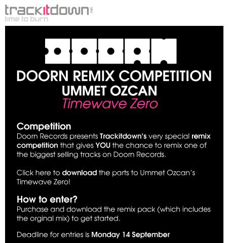 Doorn Records and Trackitdown present Doorn Remix Competition Ummet Ozcan Tidcom10