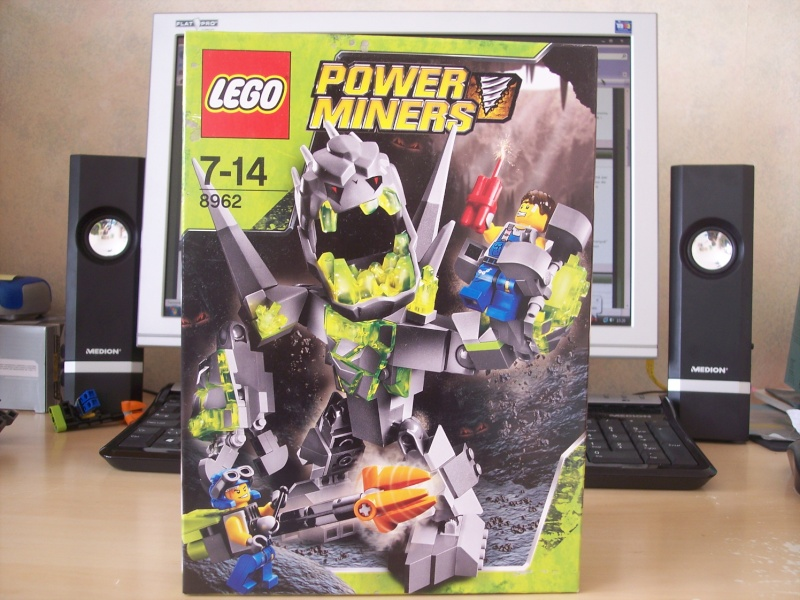 [Lego] Review Power Miners : Cristal King 100_3910
