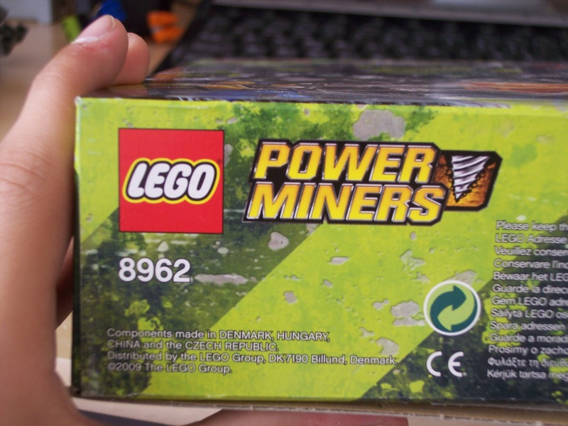 [Lego] Review Power Miners : Cristal King 100_3920