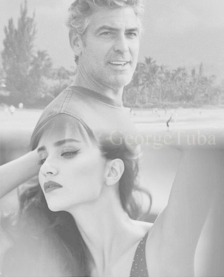 George Clooney and Tuba Buyukustun photshopped pictures - Page 15 Ref10