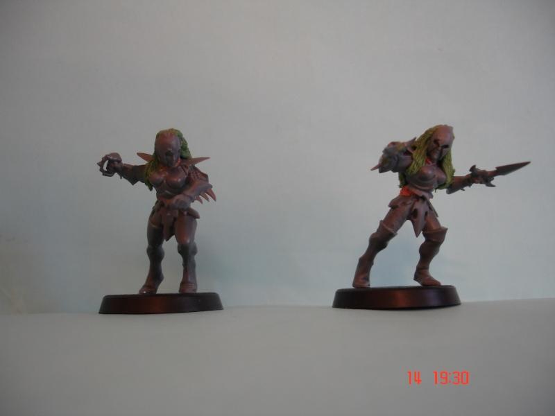 dark - Cocainne's dark elf blood bowlers Dsc07015