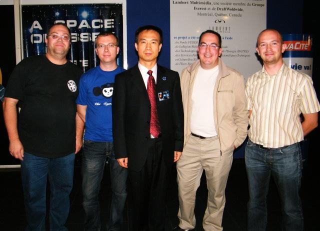 Space Week en Belgique / Euro Space Center de Redu Dscf1110