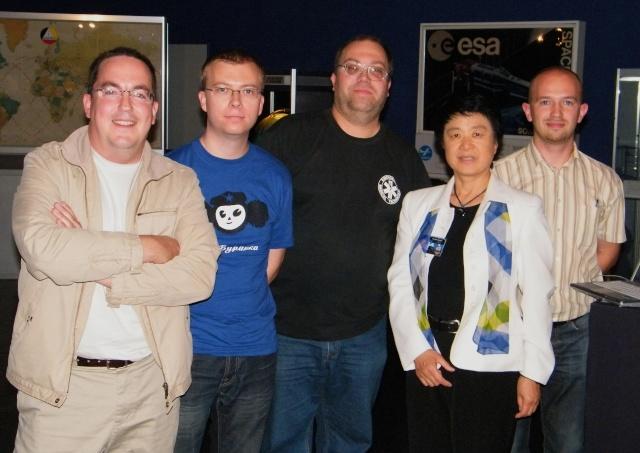 Space Week en Belgique / Euro Space Center de Redu Dscf1111