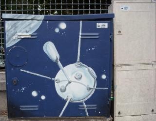 drancy - Superbe / Space Street Art à Drancy Dscn7211