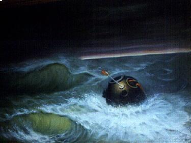 Premiers tests des procédures de récupération en mer d'Orion - Page 2 Soyouz11