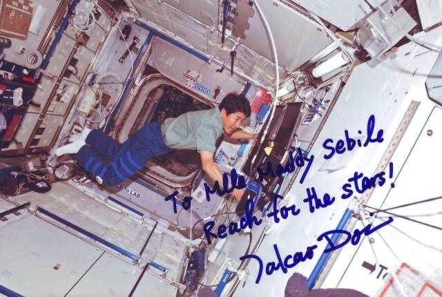 Retraite de l'astronaute japonais Takao Doi Sts-1210