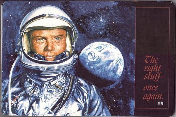29 octobre 1998 / John Glenn retourne dans l'espace Sts-9513