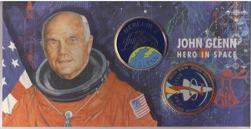 29 octobre 1998 / John Glenn retourne dans l'espace Sts-9514