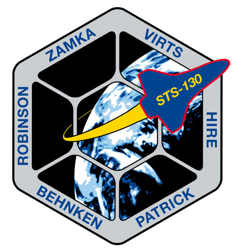 STS-130 / Le patch de la mission Sts13010