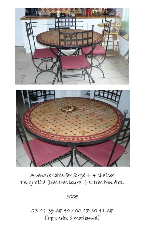 On vend notre table de cuisine Table10