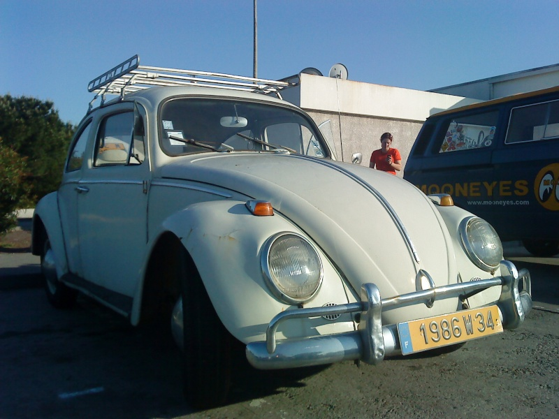 Notre 63 white spirit for Garage volkswagen herault