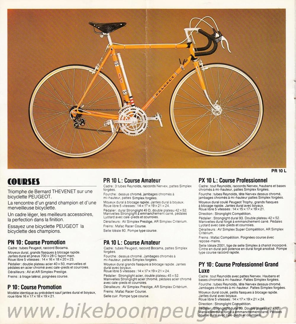 petit dernier, Peugeot PR10L 1976 .. Peugeo11