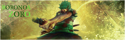 [Galerie] Persio, toshopeur en herbe! Zoro11