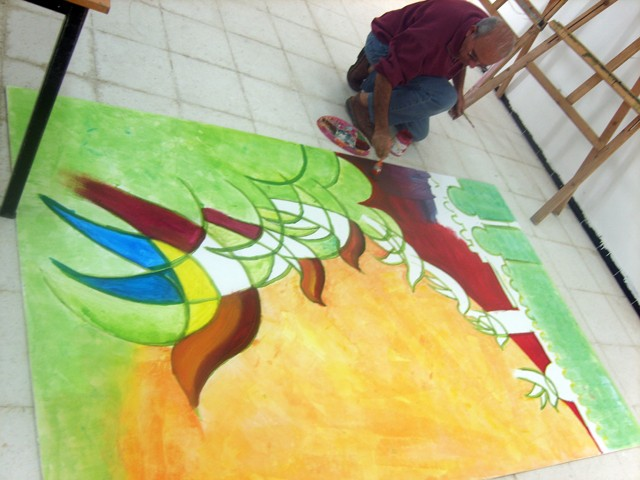 معرض تشكيلي بساحة الثقافة - نوفمبر 2009 Ayyed11