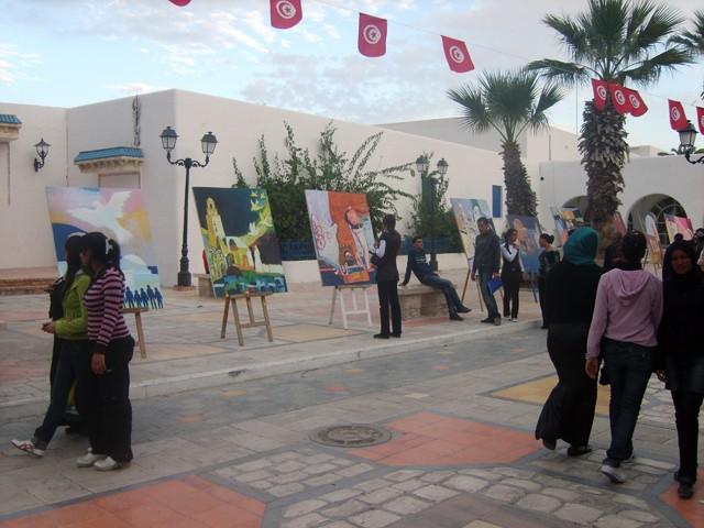 معرض تشكيلي بساحة الثقافة - نوفمبر 2009 Expo10