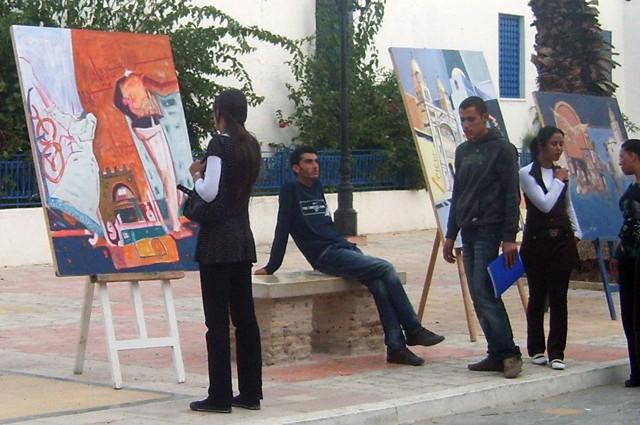 معرض تشكيلي بساحة الثقافة - نوفمبر 2009 Expo210