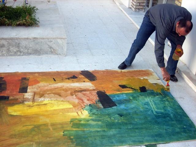 معرض تشكيلي بساحة الثقافة - نوفمبر 2009 Fessi10