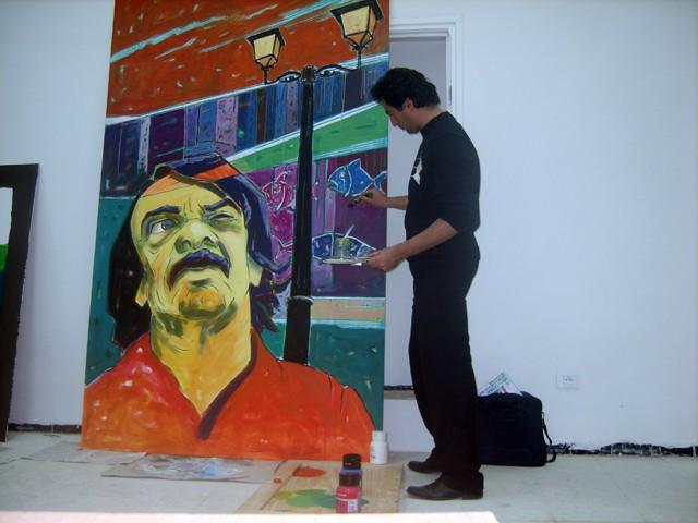 معرض تشكيلي بساحة الثقافة - نوفمبر 2009 Helali10