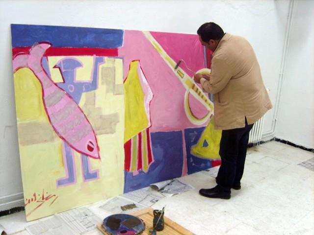 معرض تشكيلي بساحة الثقافة - نوفمبر 2009 Romdha10