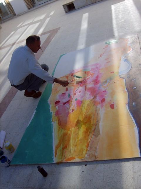 معرض تشكيلي بساحة الثقافة - نوفمبر 2009 Thabou10