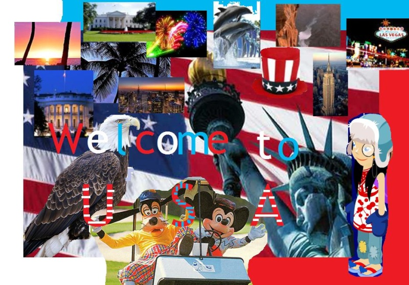 Collage of a Country-Winners Announced! Usa10