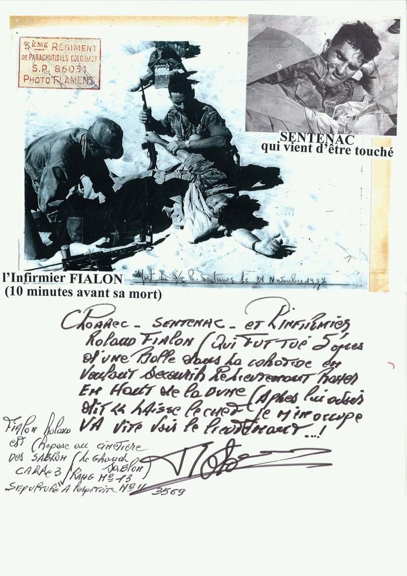 SENTENAC René Sergent-chef -3e RPC- mort le 21 nov 1957 à Timimoun Algérie 32415210