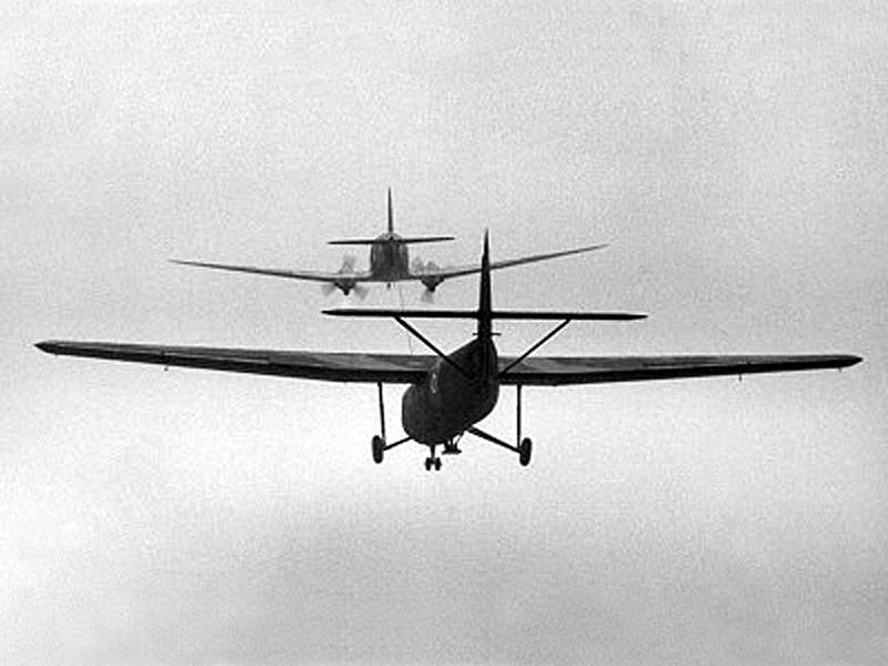 technique aéroportées les planeurs Histor10