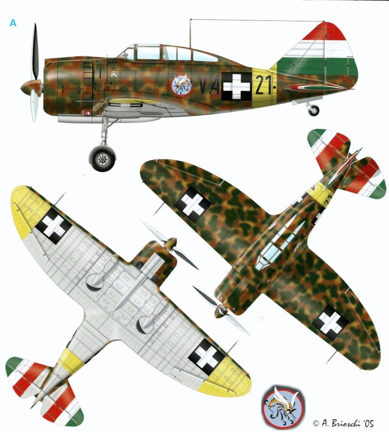 Faucons hongrois sous les cieux d'Ukraine 00120