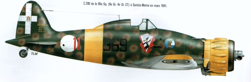 ITALIE : le 22GR autonomo: ses avions 00715