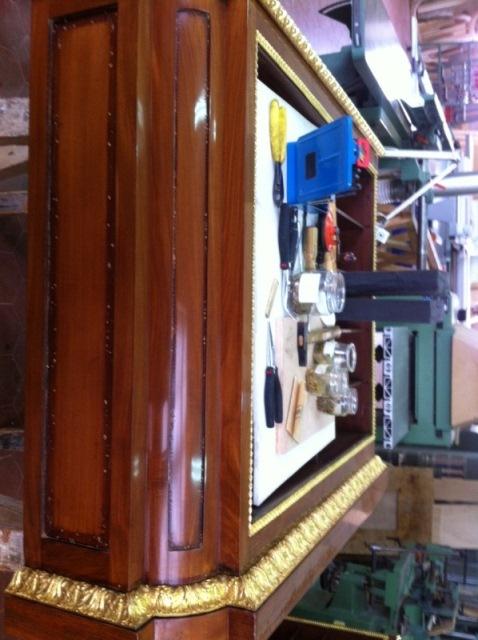Visite ateliers de restauration du Château Biblio10