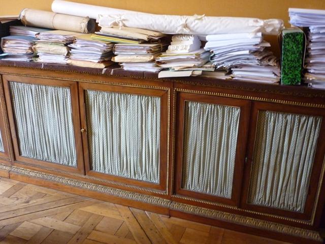 Visite ateliers de restauration du Château Versai10