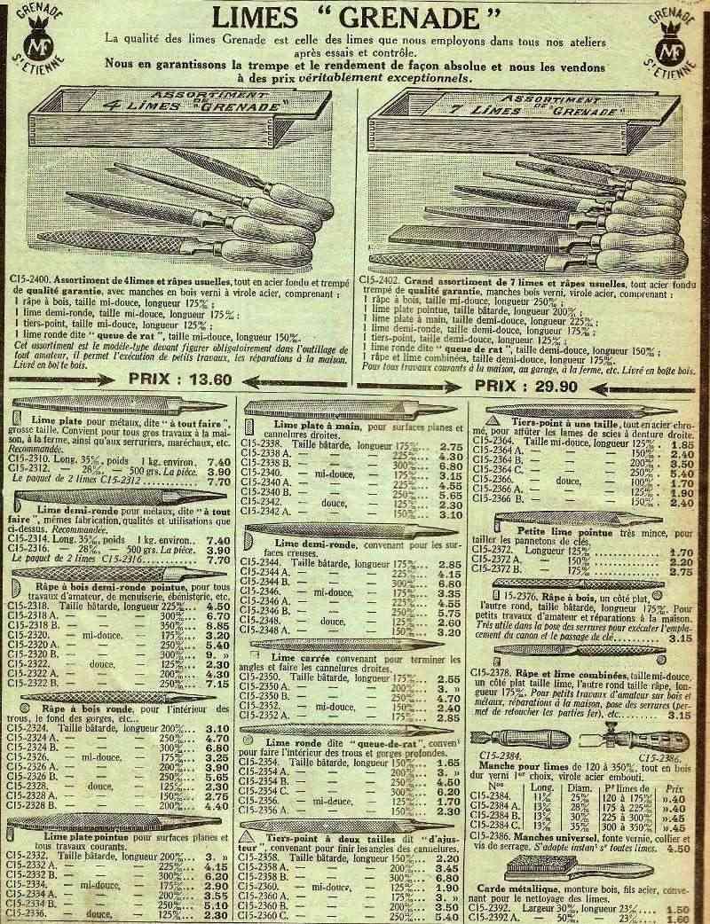 Dans la rubrique des vieux outils - Page 5 Limesg10