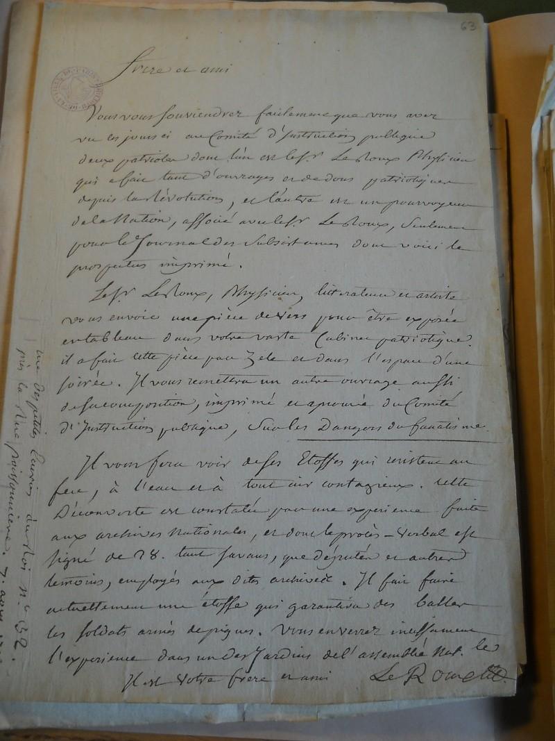 Palloy et le mythe de la Bastille - Page 11 Palloy51