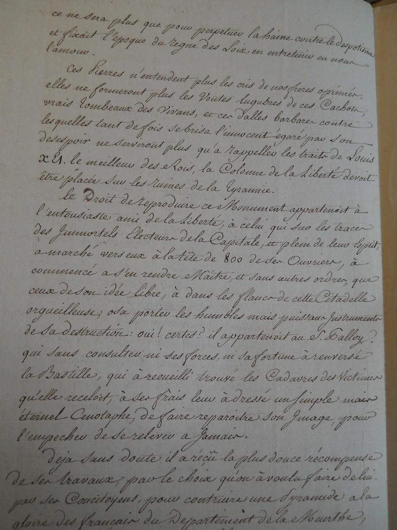 Palloy et le mythe de la Bastille - Page 11 Palloy57