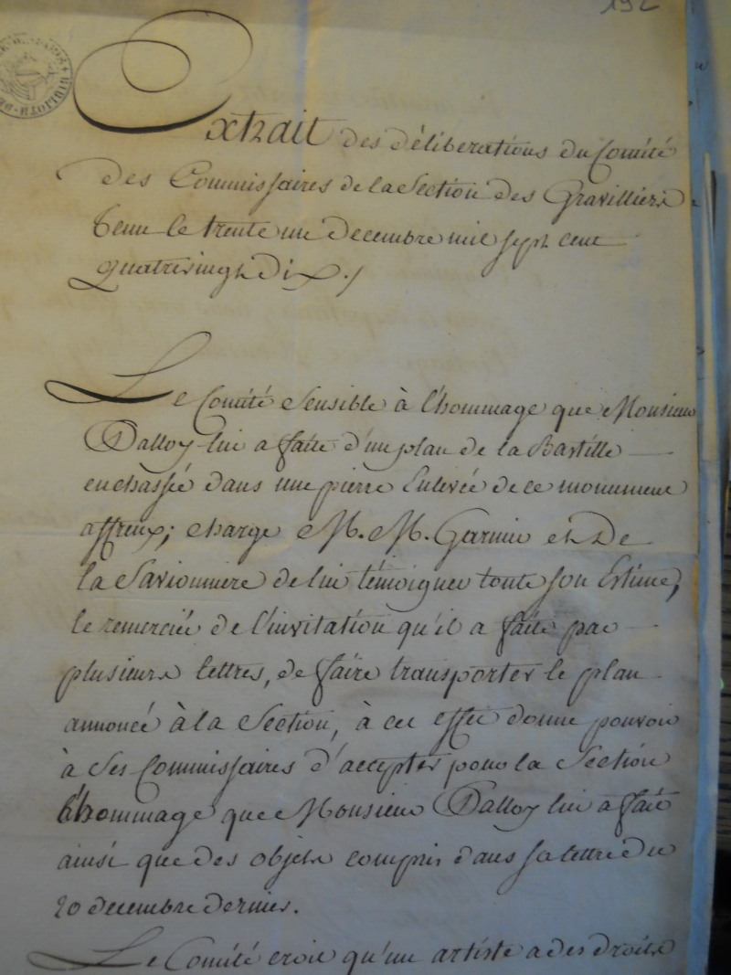 Palloy et le mythe de la Bastille - Page 11 Palloy88